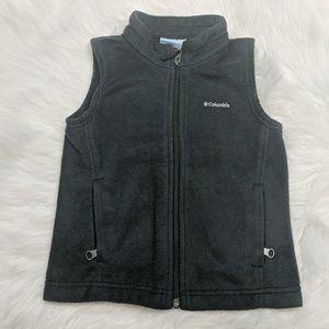 Columbia Sportswear Company Charcoal Gray Fleece Z